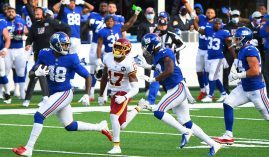The New York Giants won last week against Washington, and are trying to make it two in a row when they face Philadelphia. (Image: USA Today Sports)