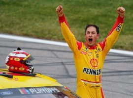 Joey Logano is the first of four drivers to qualify for the NASCAR Cup Series Championship. (Image: USA Today Sports)
