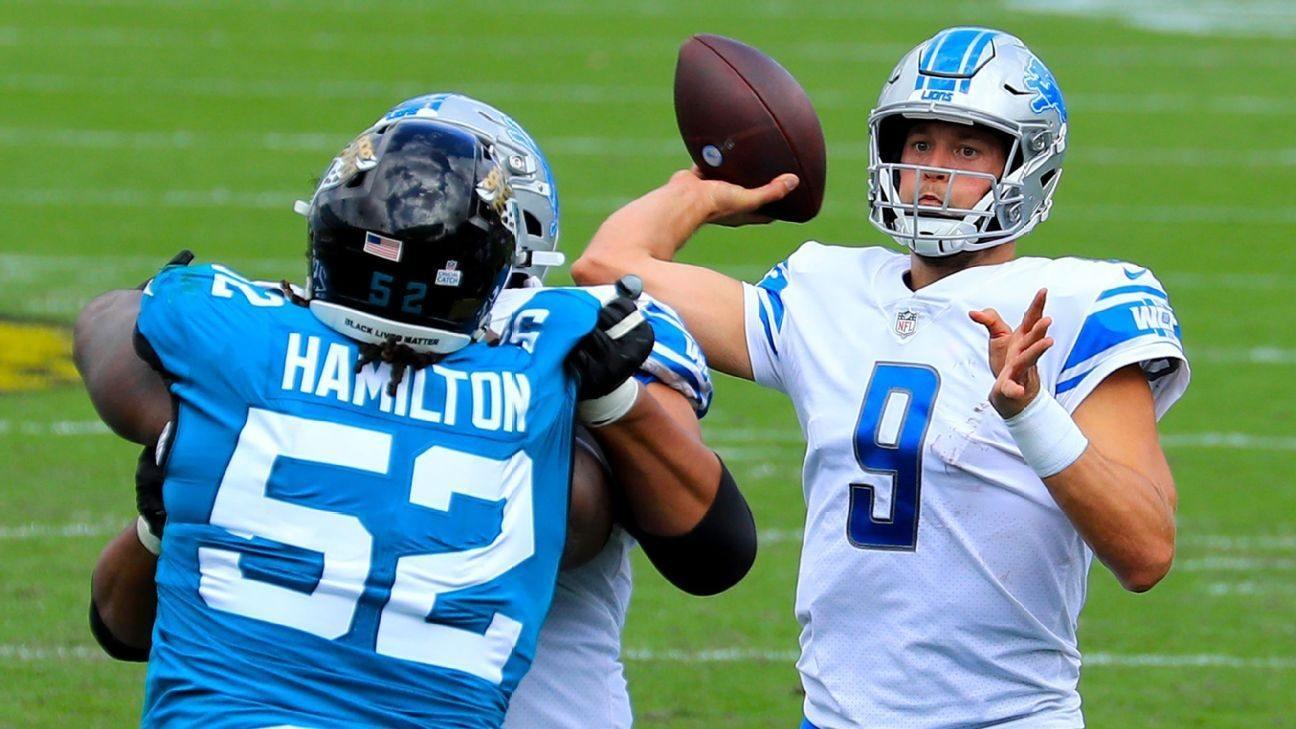 Sorotan Matthew Stafford NFL Minggu 6