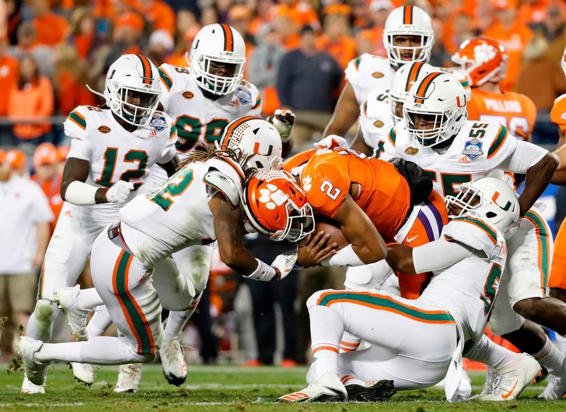 Miami Hurricanes College Football Week 6