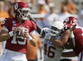 Oklahoma celebrates its 53-45 victory over Texas in four overtimes and provided several highlights in College Football Week 6. (Image: NCAA)