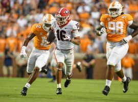 Tennessee got manhandled by Georgia last week, but is facing an inferior Kentucky team and should be able to bounce back. (Image: USA Today Sports)