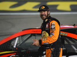 Martin Truex Jr. has had success at road courses, and should challenge for the win at the Roval 400 at Charlotte Motor Speedway. (Image: Getty)