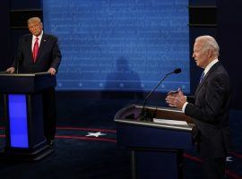 Gamblers who want to wager beyond just the straight odds between who will win the presidency between Donald Trump and Joe Biden have a multitude of election prop bets to choose from at online sportsbooks. (Image: AP)