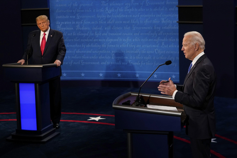 Taruhan alat bantu pemilihan Donald Trump Joe Biden
