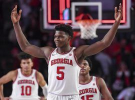 Georgia super frosh Anthony Edwards became the #1 pick in the 2020 NBA Draft by the Minnesota Timberwolves. (Image: AP)