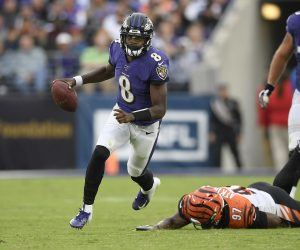 Lamar Jackson tests positive COVID-19 Baltimore Ravens RG3