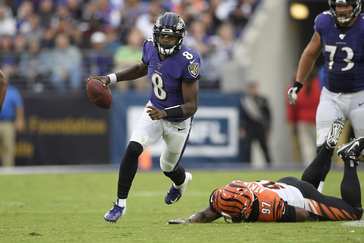 Lamar Jackson tests positive COVID-19 Baltimore Ravens RG3
