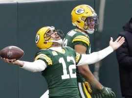 Aaron Rodgers and the Green Bay Packers seek an 8-2 record in NFL Week 11. (Image: Jack S. Traw/USA Today Sports)