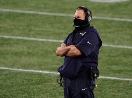 New England Patriots head coach Bill Belichcik surveys the battlefield. (Image: David Butler II/USA Today Sports)