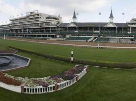 The Churchill Downs turf course is getting more than a makeover. The $10 million project will be ready by the spring of 2022. (Image: Coady Photography/Churchill Downs)