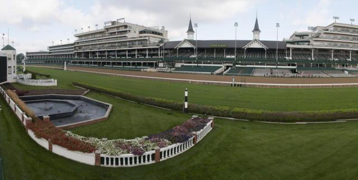 Churchill Downs New Turf Course