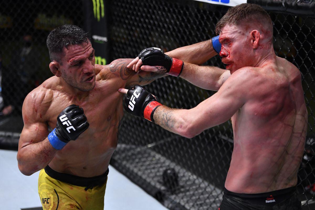 Dos Anjos Felder UFC