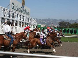 Golden Gate Fields closed down for the second time in seven months Friday after a COVID-19 outbreak ravaged the stable area. (Image: Josh S. Jackson/Flickr)