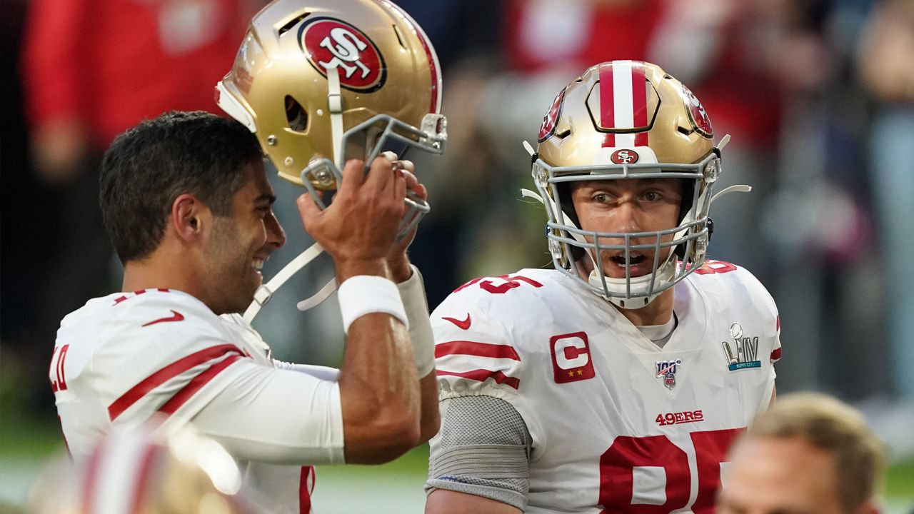 Laporan Cedera Jimmy G George Kittle San Fancisco 49ers Niners