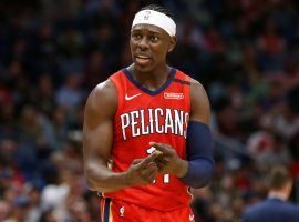 Jrue Holiday, ex-New Orleans Pelicans star, will join the Milwaukee Bucks in a trade. (Image: Suzanne Greenberg/Getty)