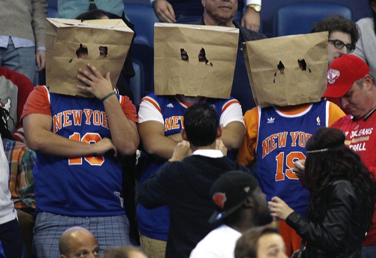 Kemenangan NBA total tim buruk Knicks Cavs Charlotte Hornets