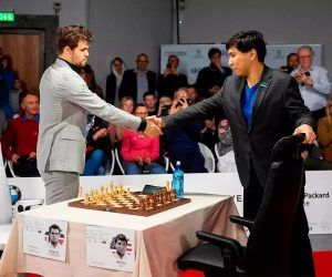 Skilling Open Carlsen So odds
