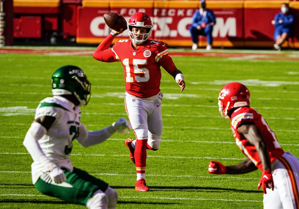 Patrick Mahomes NFL Week 12 quickie preview Kansas City Chiefs Tampa Bay Bucs