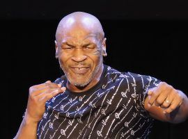 Mike Tyson (pictured) will take on Roy Jones Jr. on Saturday in an exhibition that could feel more or less like a real fight, depending on who you ask. (Image: Getty)