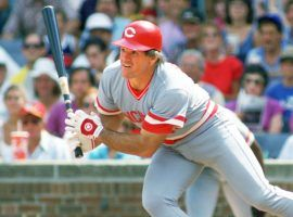 Pete Rose says he still bets on baseball to this day, though he now does so legally at casinos. (Image: Ron Vesely/MLB/Getty)