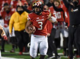 Maryland quarterback Taulia Tagovailoa was on fire prior to the Terrapins two-week break due to COVID-19. He looks to get things rolling again Saturday against Indiana. (Image: Maryland Athletics)
