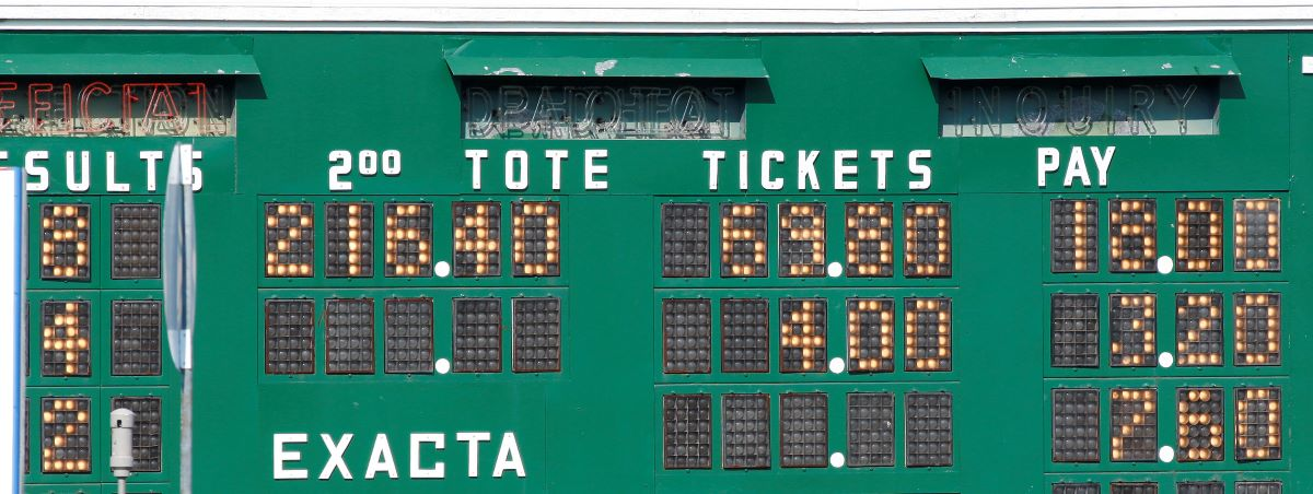 Tote board-Fixed Odds