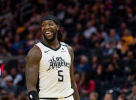 Montrezl Harrell will not have to move to switch teams from the Los Angeles Clippers to the LA Lakers. (Image: John Hefti/USA Today Sports)