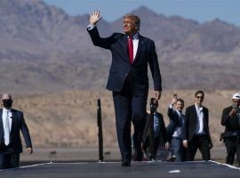 President Donald Trump finds himself playing defense in Arizona, long a Republican stronghold in presidential elections. (Image: AP)