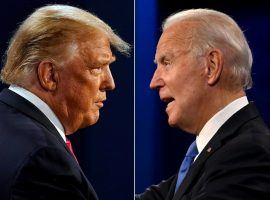 MyBookie Chief Oddsmaker David Strauss said his book took in more money on the presidential election than it took in on the Super Bowl. With two days remaining until the election, President Donald Trump remains an underdog over challenger Joe Biden. (Image: The Independent)