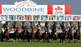 Canada's flagship track, Woodbine outside Toronto, benefited from the removal of a controversial provision in a sports betting bill. That bill is making its way through the Canadian government. (Image: Bill Selwyn)
