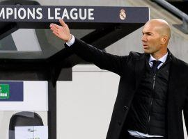 Zinedine Zidane's job could be on the line when Real Madrid hosts Inter Milan on Tuesday in Champions League play. (Image: Getty)