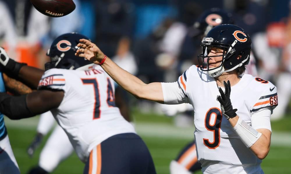 Chicago Bears quarterback Nick Foles