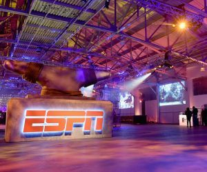 ESPN Studio in Bristol, Conn. sits empty. The Disney-owned company beset by coronavirus woes laid off 500 Friday (Image: Getty)
