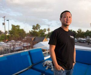 Tony Hsieh who spent the last two decades redeveloping downtown Las Vegas as a tech haven died Friday of injuries sustained in a house fire. He was 46. (Image: AP)