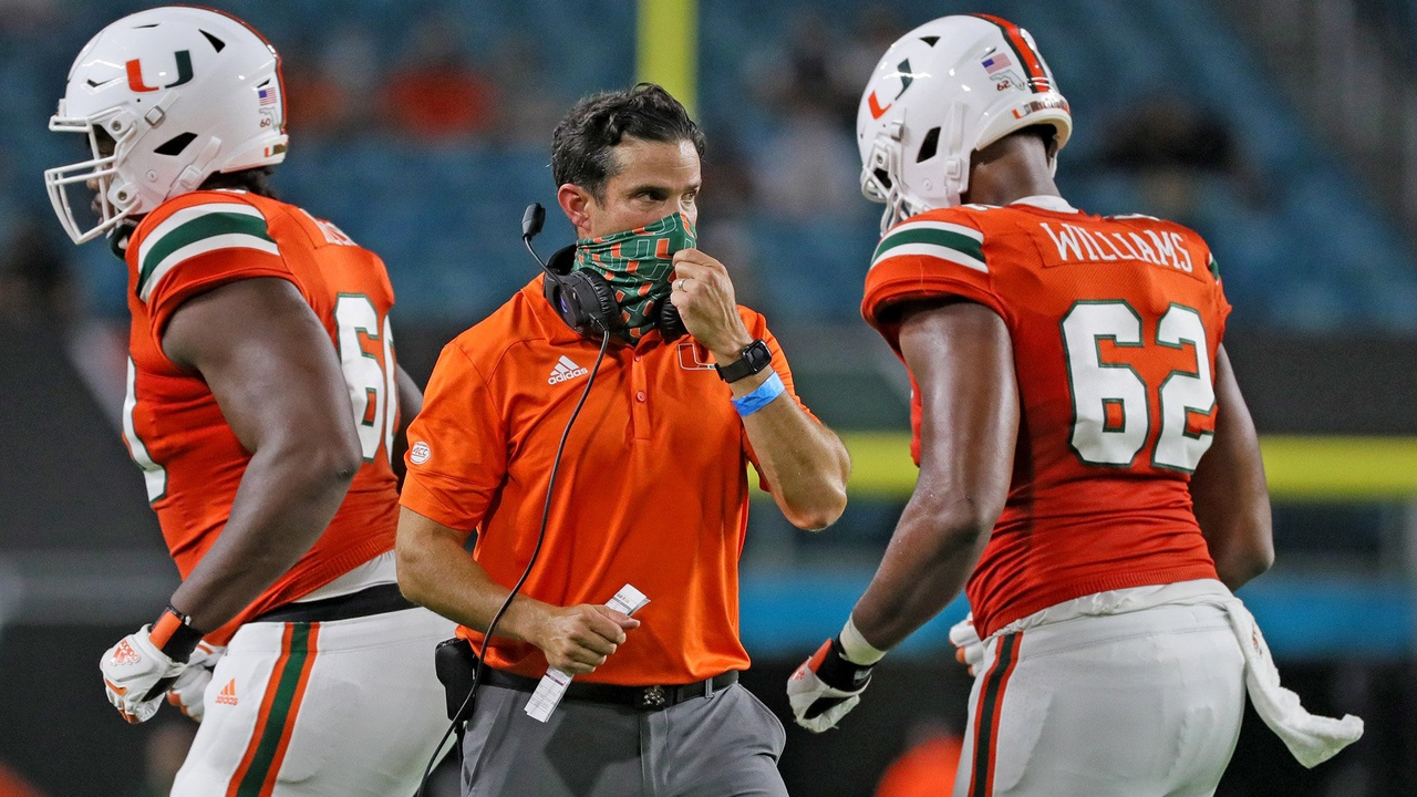 Miami coach Manny Diaz