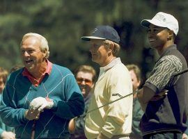 Arnold Palmer, Jack Nicklaus, and Tiger Woods have all won multiple Masters championships. (Image: AP)