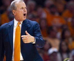 Tennessee head coach Rick Barnes was among several Volunteers players, coaches, and staff to test positive for COVID-19 heading into their season opener. Barnes and the others infected are currently in isolation. (Image: AP)