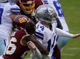 Washington trounced Dallas 25-3 in the team's first meeting in October, but whoever wins on Thanksgiving will take over sole possession of first place in the NFC East. (Image: AP)