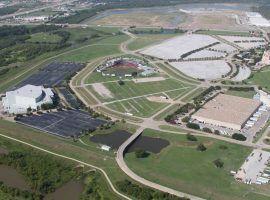 The former baseball stadium near Dallas  (Image: USA Cricket)