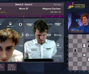 Airthings Masters Carlsen Nakamura So
