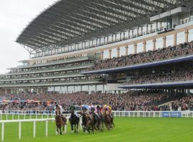 The quality of racing at Ascot remained strong as ever. But the storied track faces economic challenges in 2021. (Image: Eclipse Sportswire)