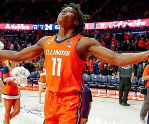 Illinois Ayo Dosunmu Baylor Gonzaga West Virginia Jimmy V Classic