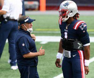 New England Patriots AFC Playoffs Wild Card Bubble Baltimore Ravens Las Vegas Raiders