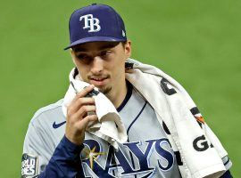 The San Diego Padres have traded for Blake Snell, a move that solidifies the team as a World Series contender. (Image: Kevin Jairaj/USA Today Sports)