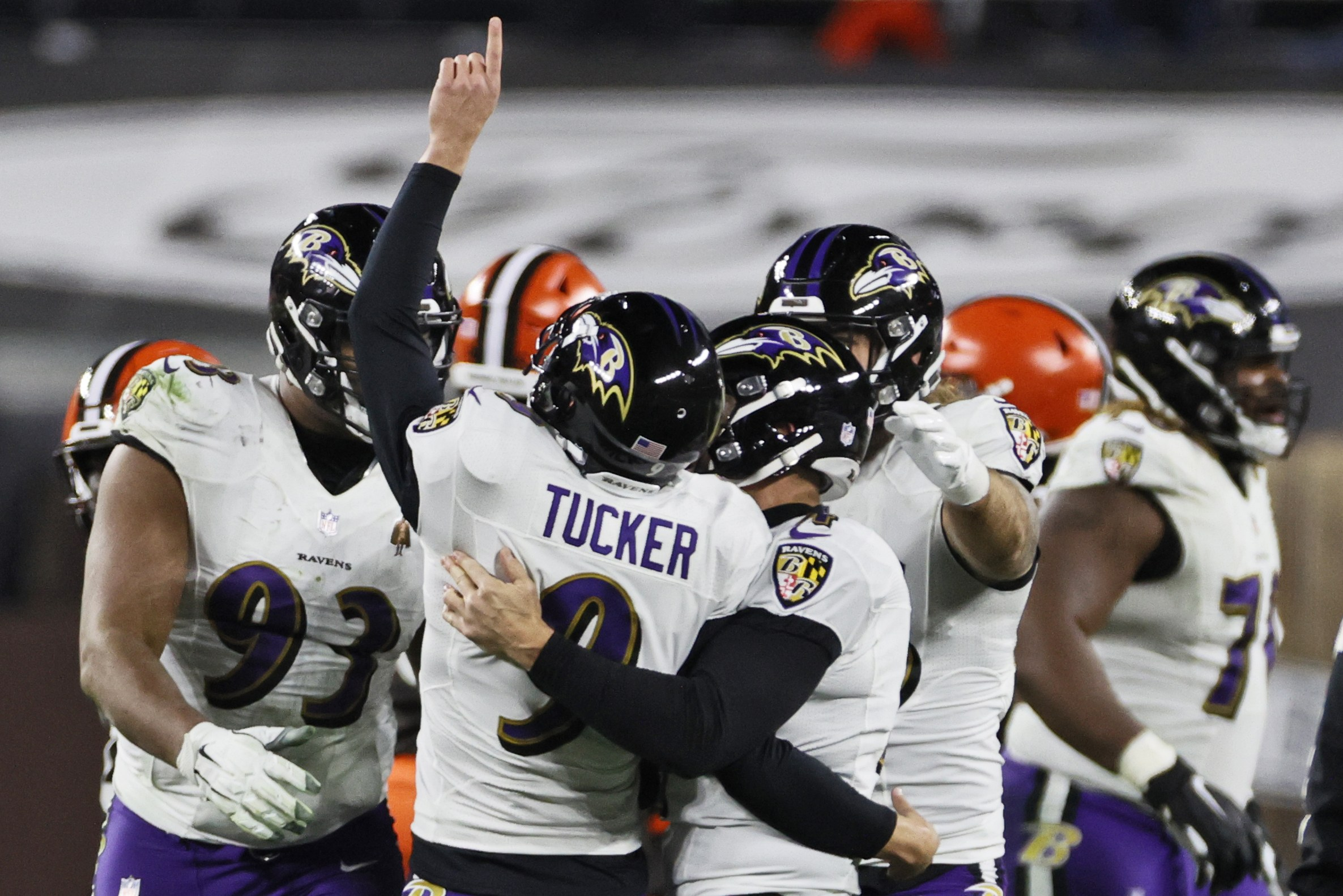 bad beat Browns Ravens