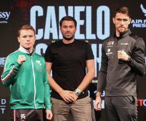 Alvarez Smith odds boxing