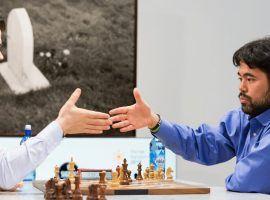 Magnus Carlsen (left) and Hikaru Nakamura (right) will enter their respective Speed Chess Championship quarterfinals as heavy favorites. (Image: Maria Emelianova/Chess.com)