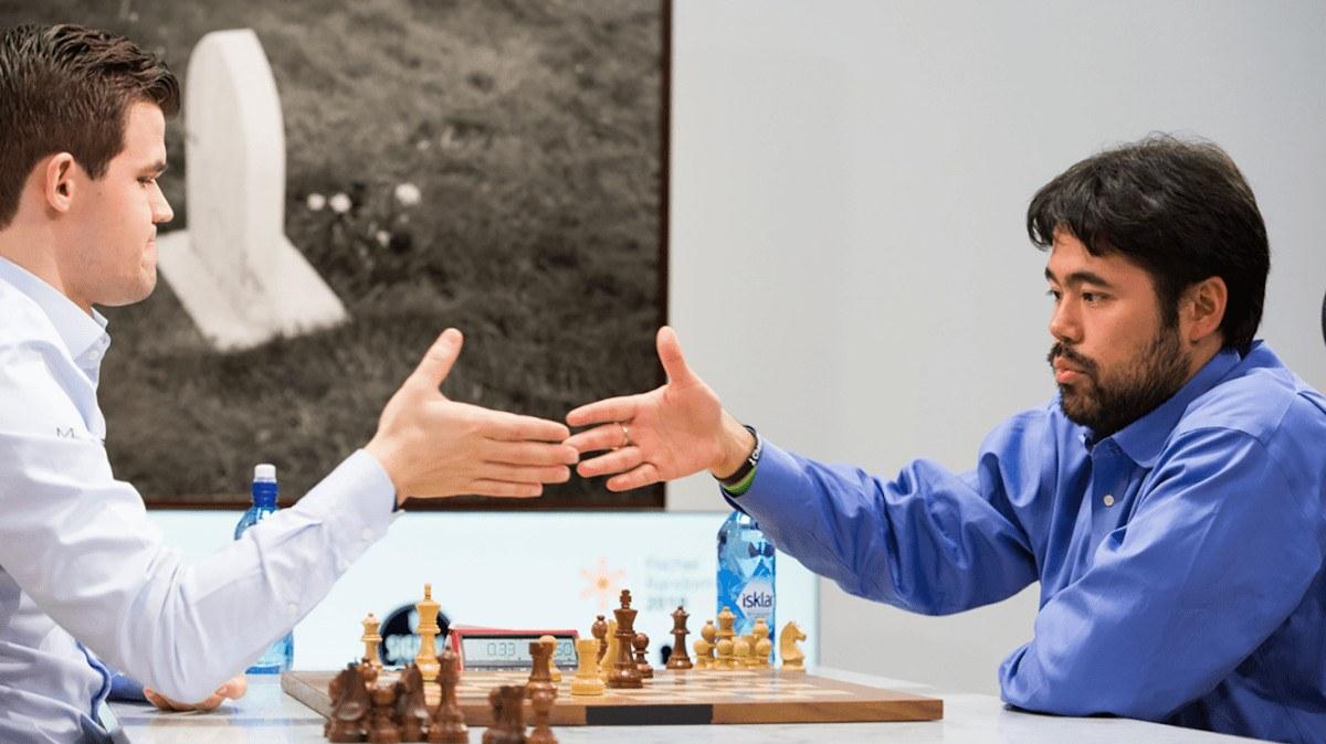 Carlsen Nakamura Speed Chess Championship odds