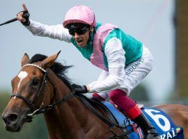 Yes, jockey Frankie Dettori is No. 1 again -- for the fourth time in six years. The Italian-born, British rider was named the World's Top Jockey by the International (Edward Whitaker)